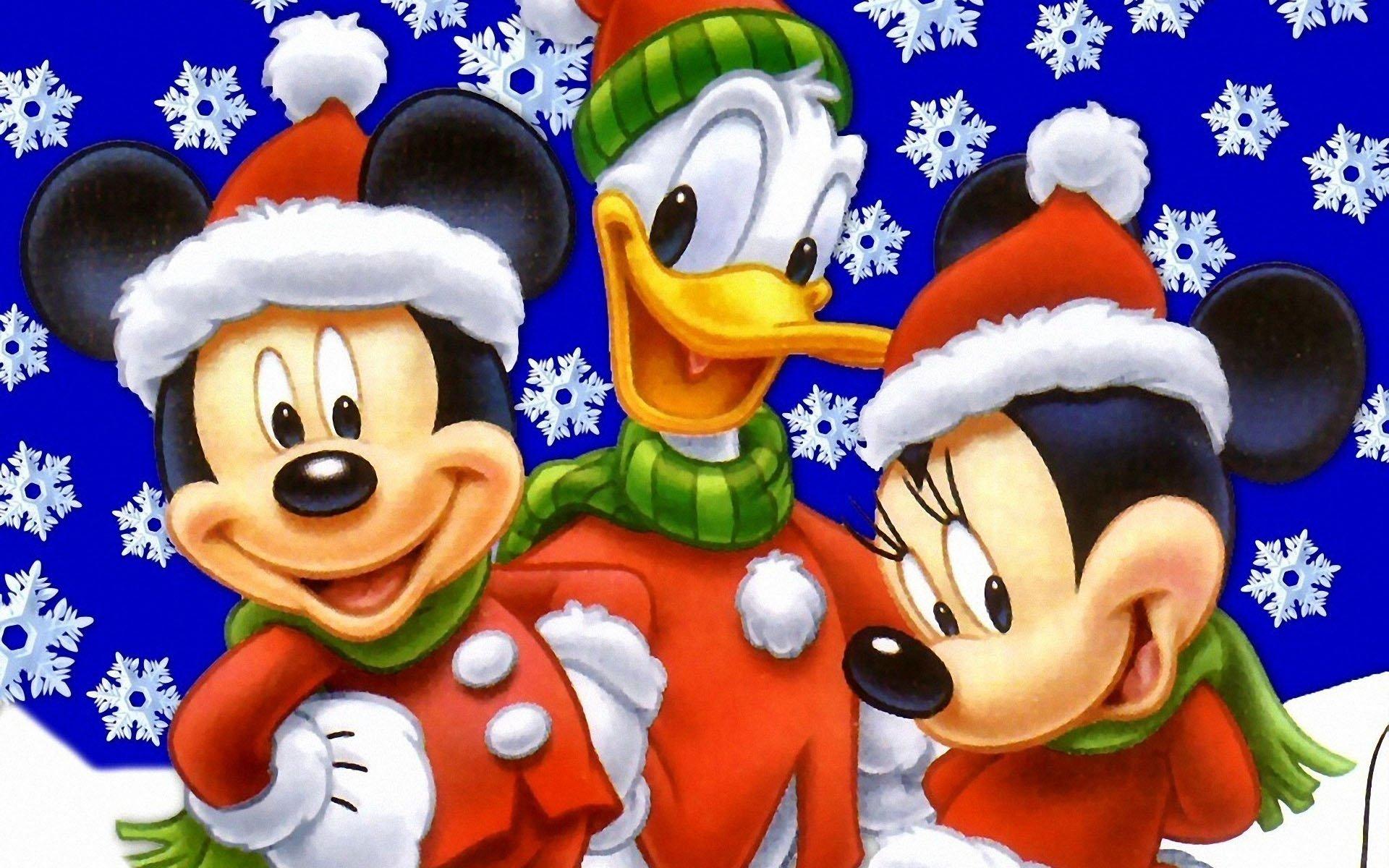 Новогоднее поздравление мультипликационных героев