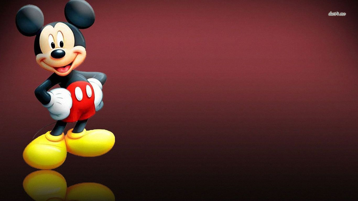 Free Disney Screensavers Amusing Mickey Mouse Wallpapers 1366x768