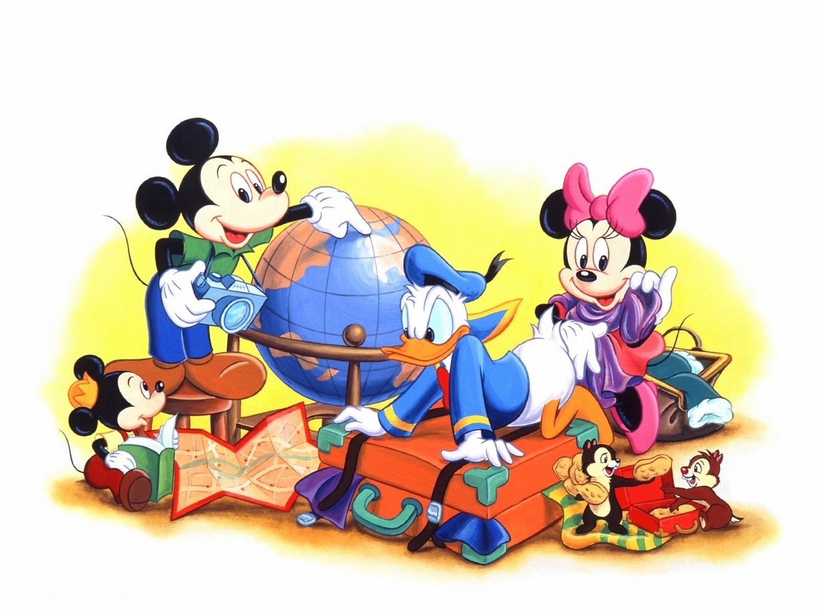 Mickey Mouse Christmas Wallpapers  Wallpaper  1600x1200