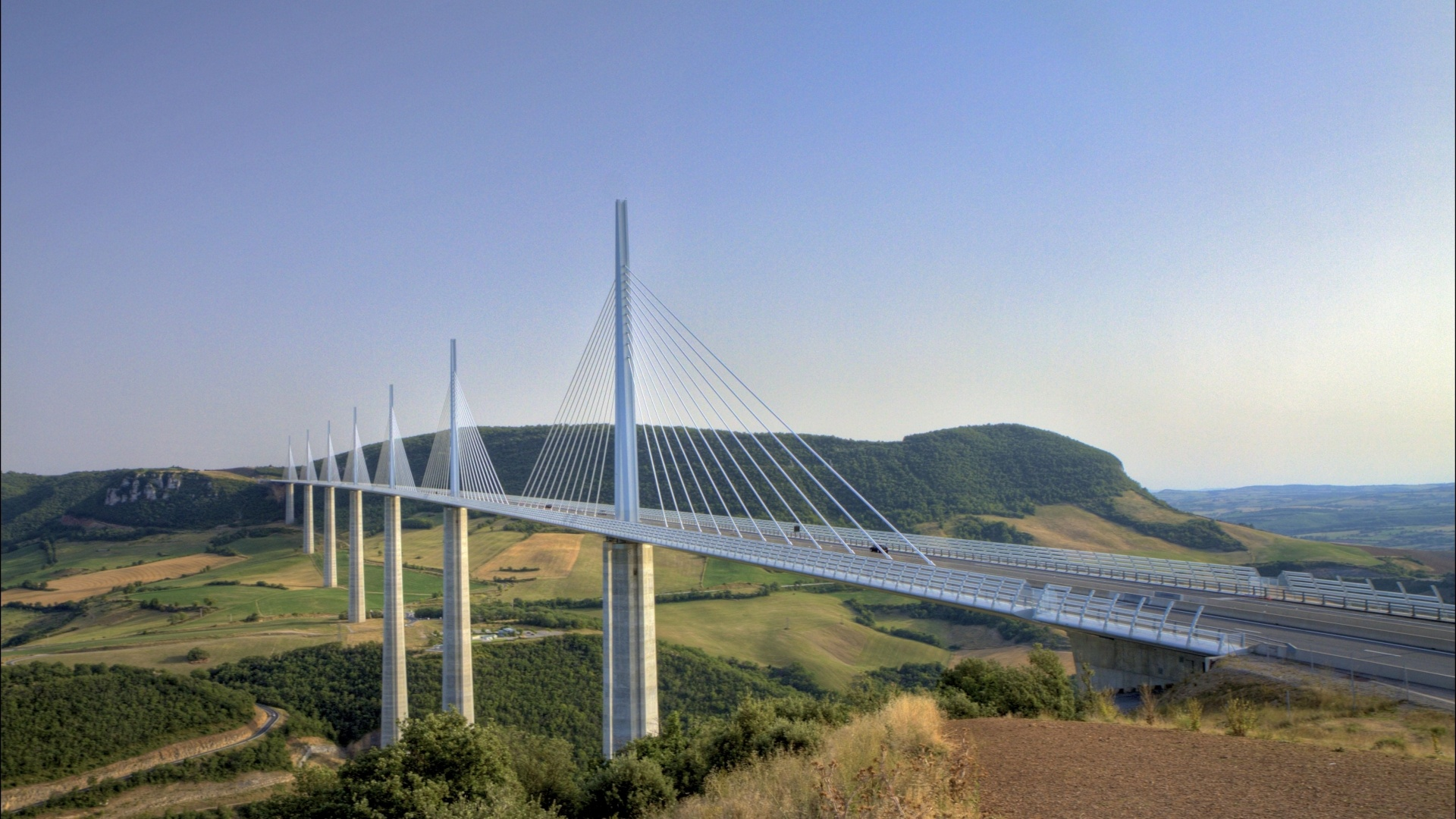 Millau Viaduct Wallpapers Wallpapers Adorable Wallpapers