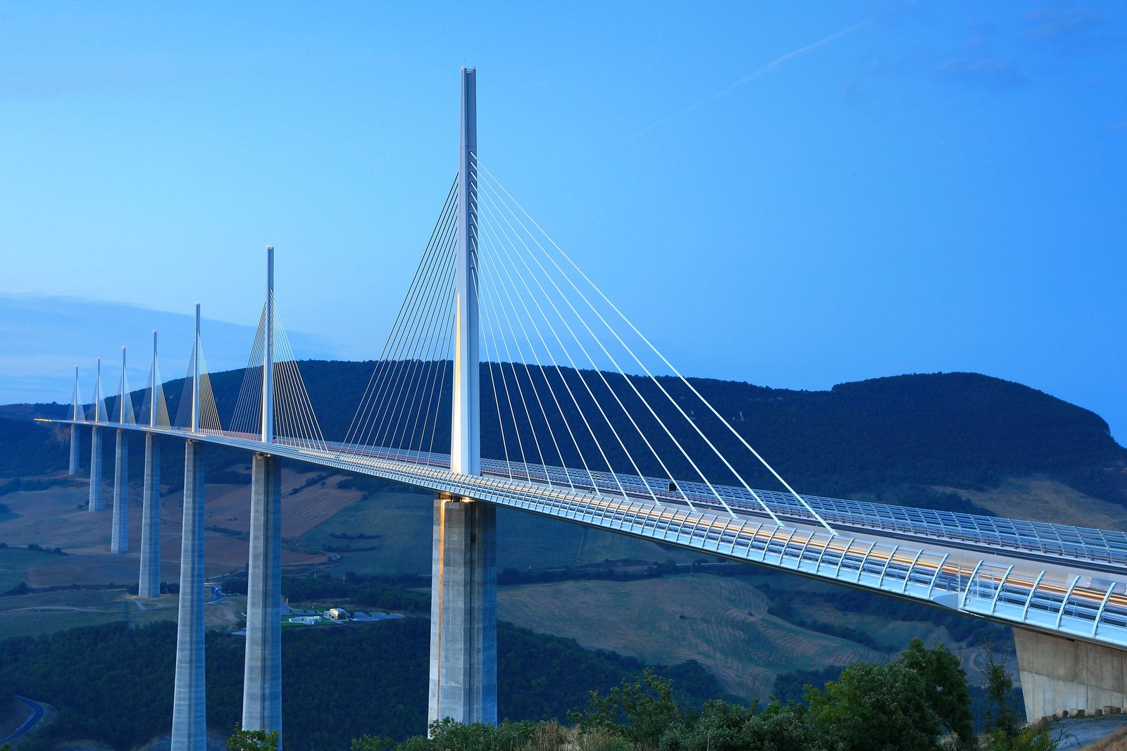 Millau Viaduct HD Wallpapers Backgrounds Wallpaper