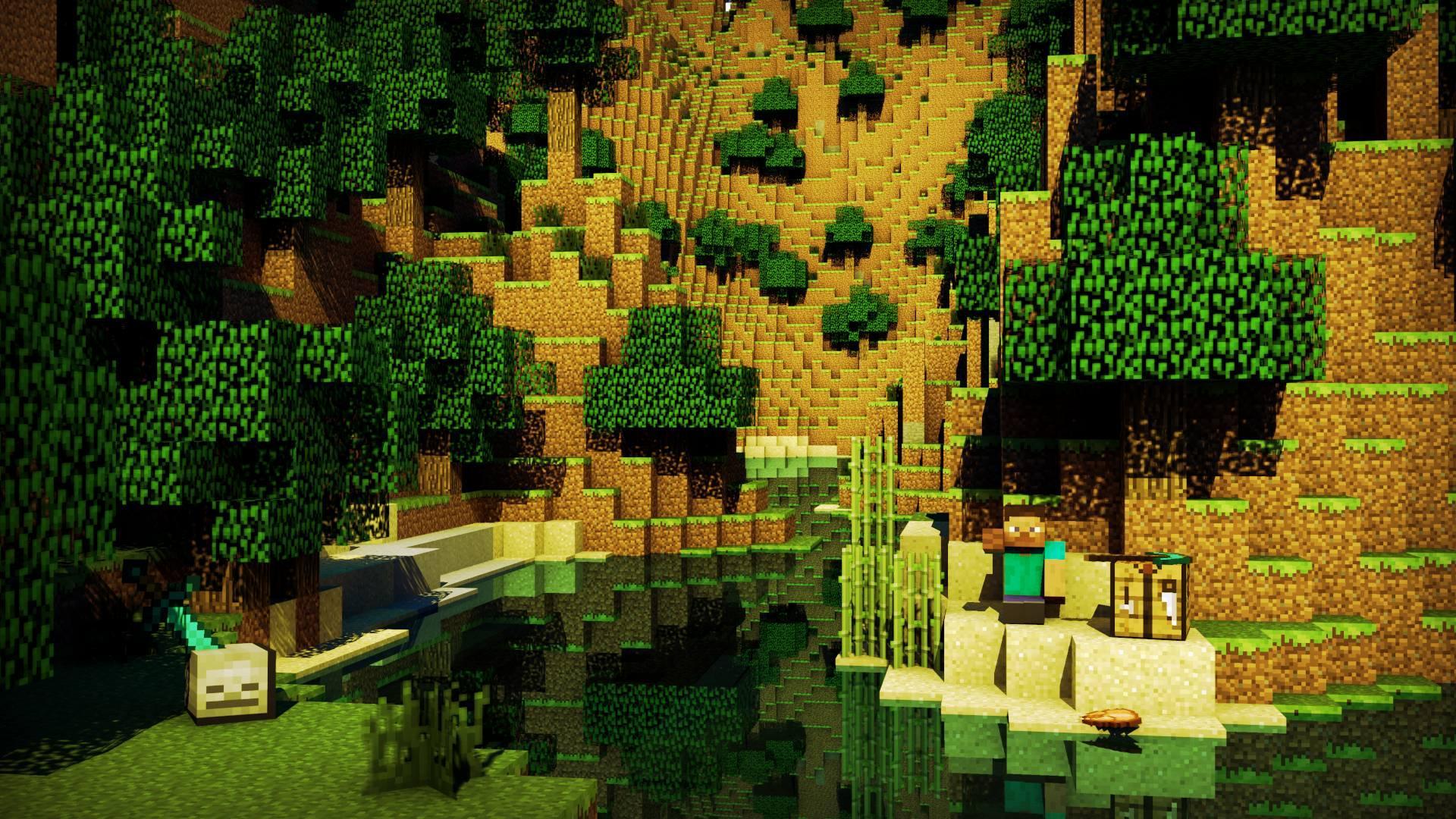 Minecraft Iphone Wallpaper Hd 1920x1080