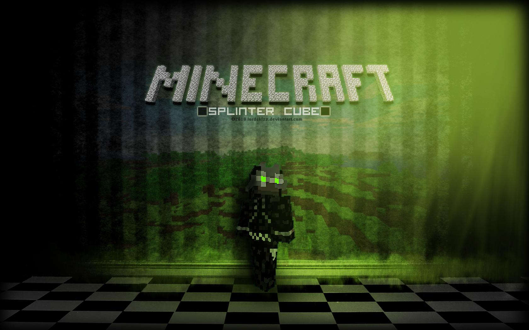 Minecraft Creeper Desktop PC And Mac Wallpaper 1680x1050