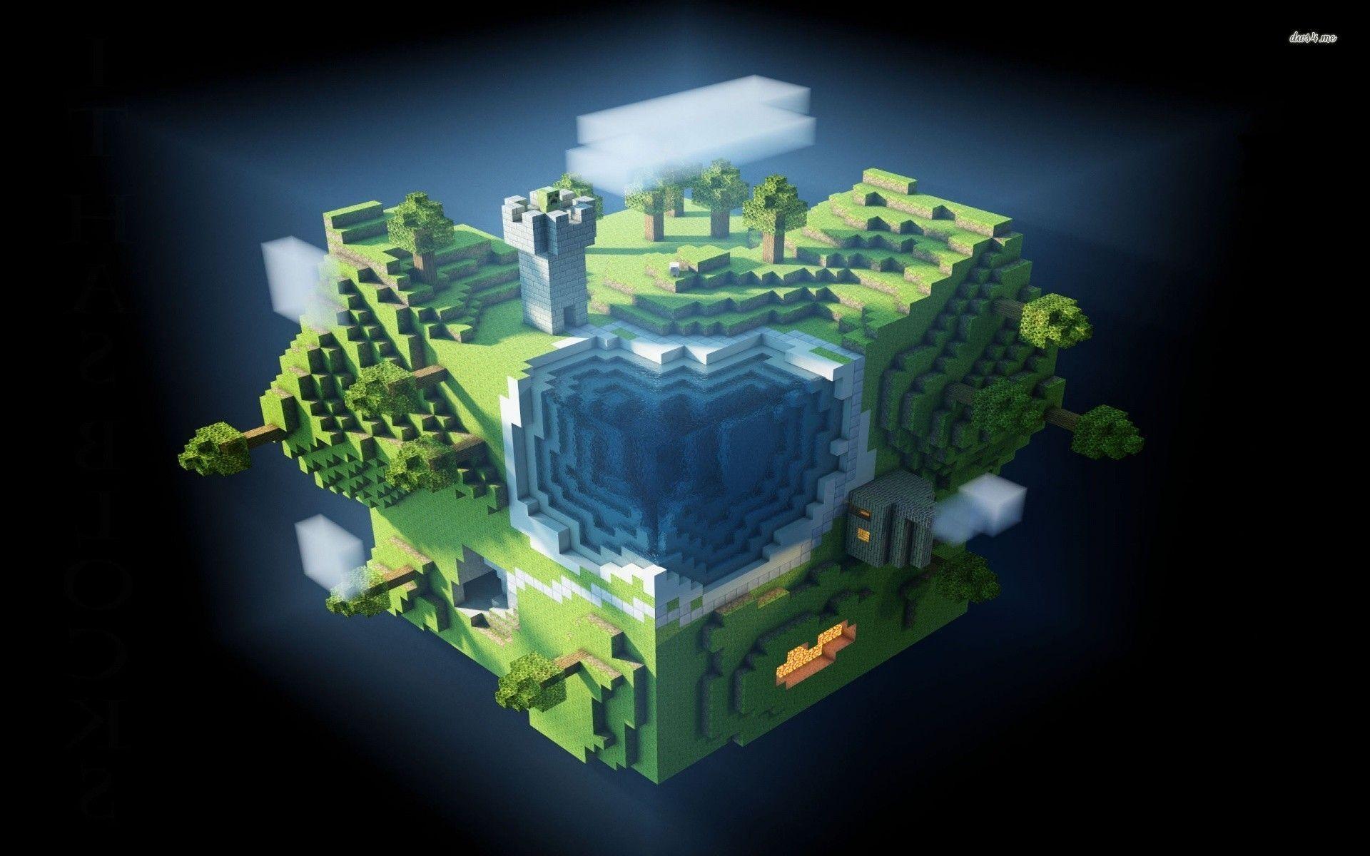 minecraft animation background