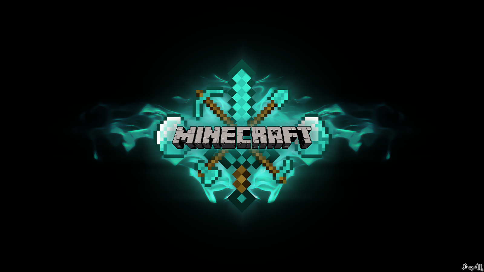 Photo Collection Wallpapers Minecraft Cool Blue