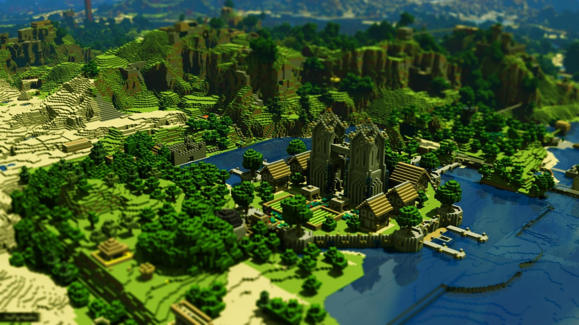 Minecraft Wallpapers Full HD Group  1920x1080