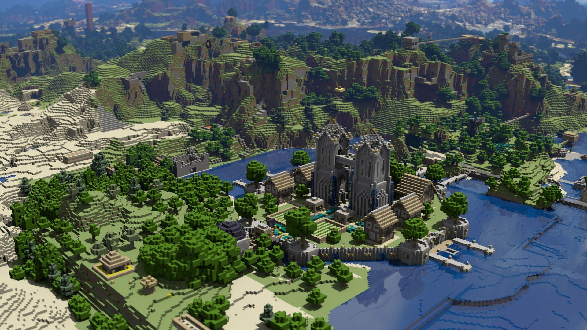 Cool Minecraft Backgrounds Wallpaper 1920x1080
