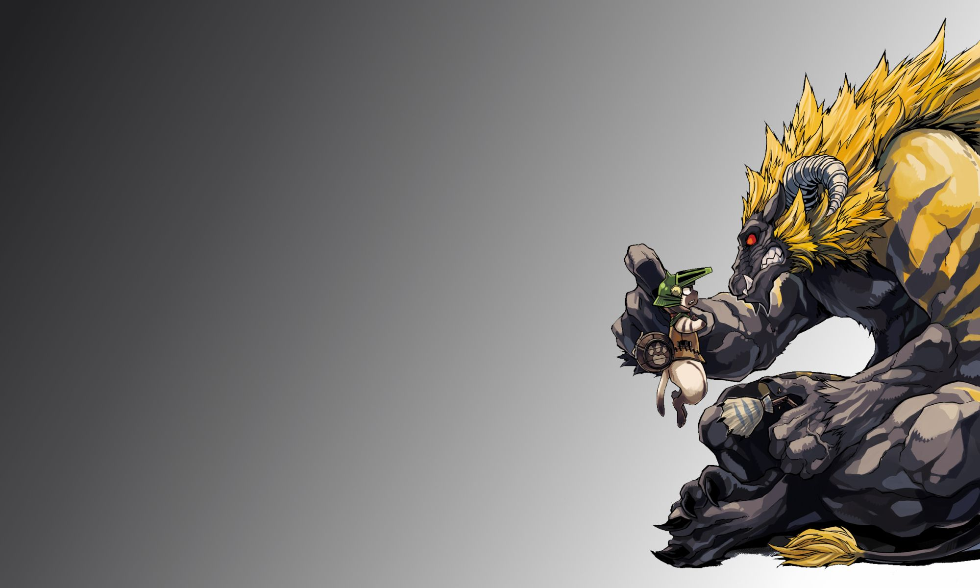 Monster Hunter HD Wallpapers Backgrounds Wallpaper 2000x1200