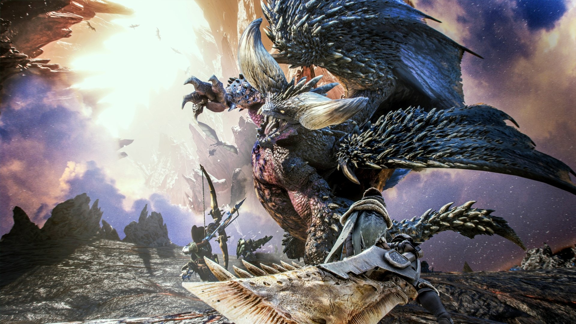 Monster Hunter World HD Wallpaper k Iphone Android p