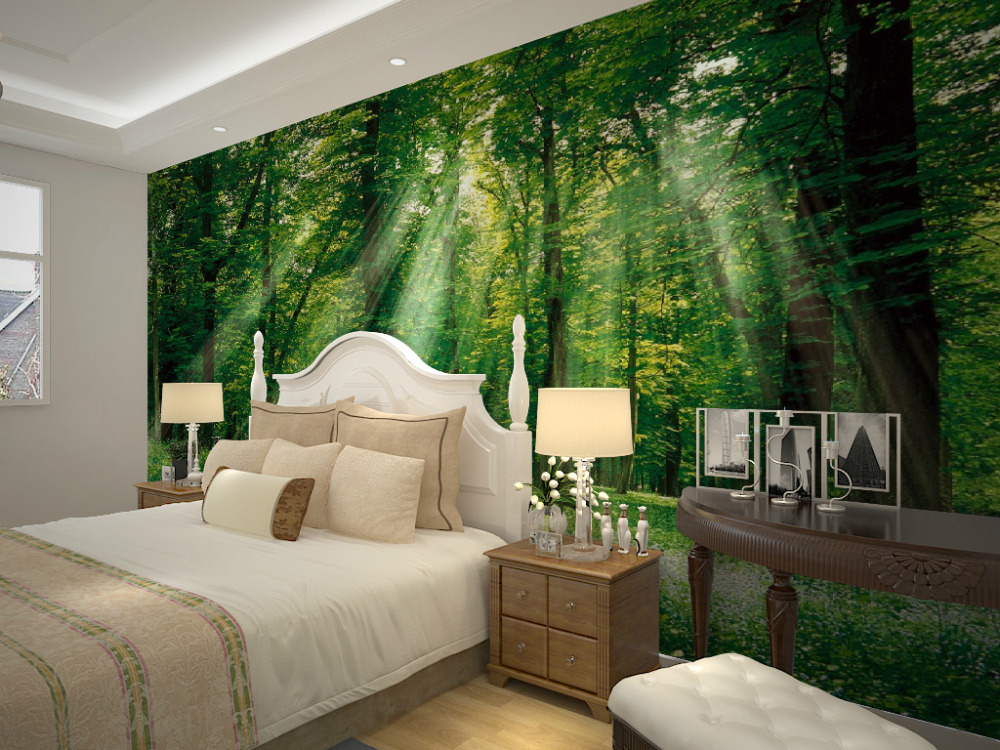 Forest Wallpaper For Bedroom Rooms