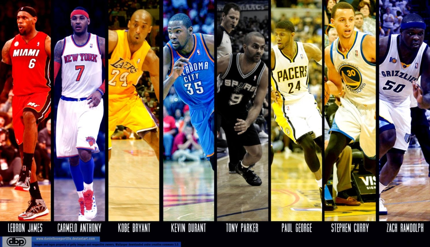 Mobile Compatible NBA Players Wallpapers Free Backgrounds 1488x855