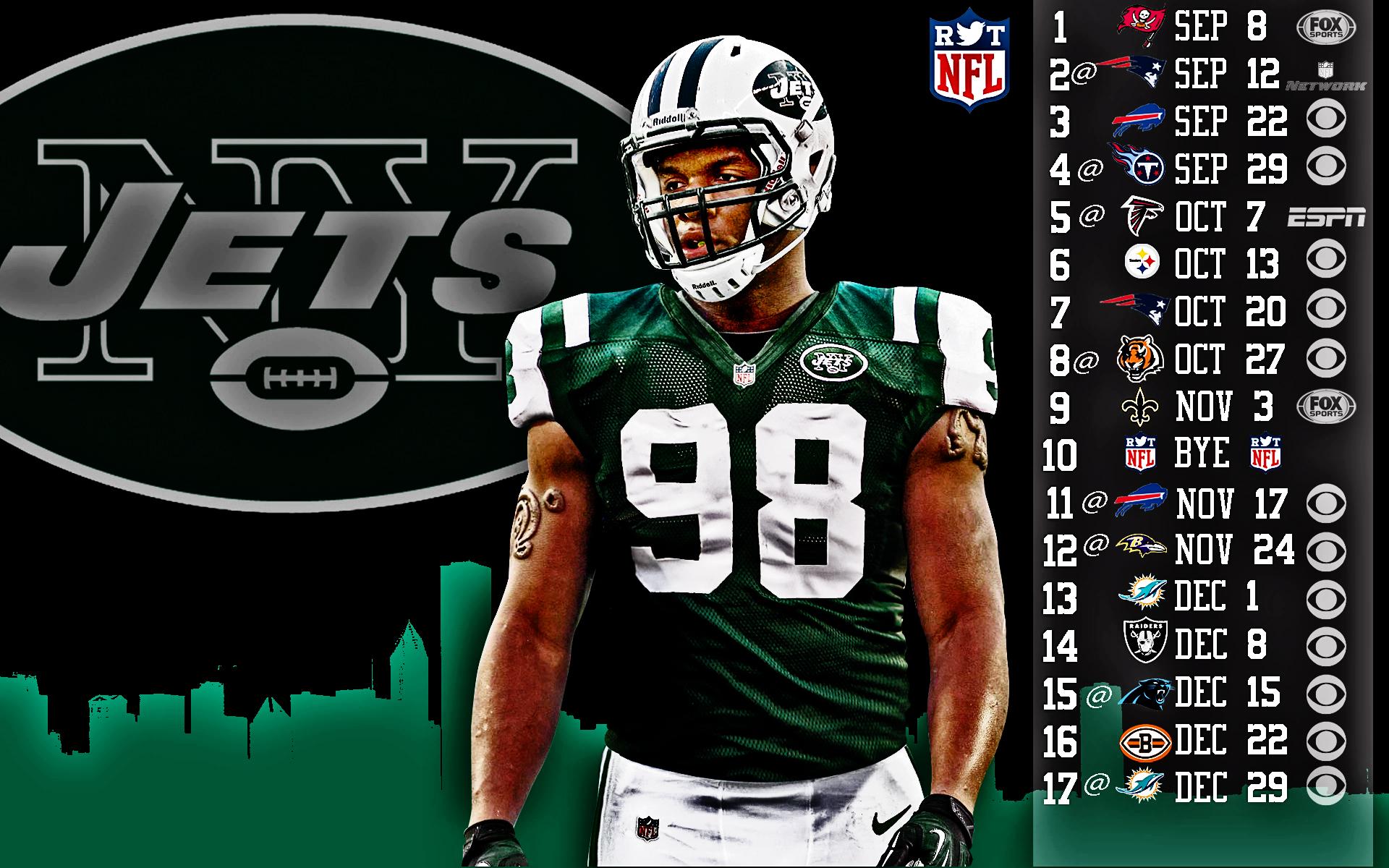 New York Jets Nfl Football F Wallpaper 1920x1200