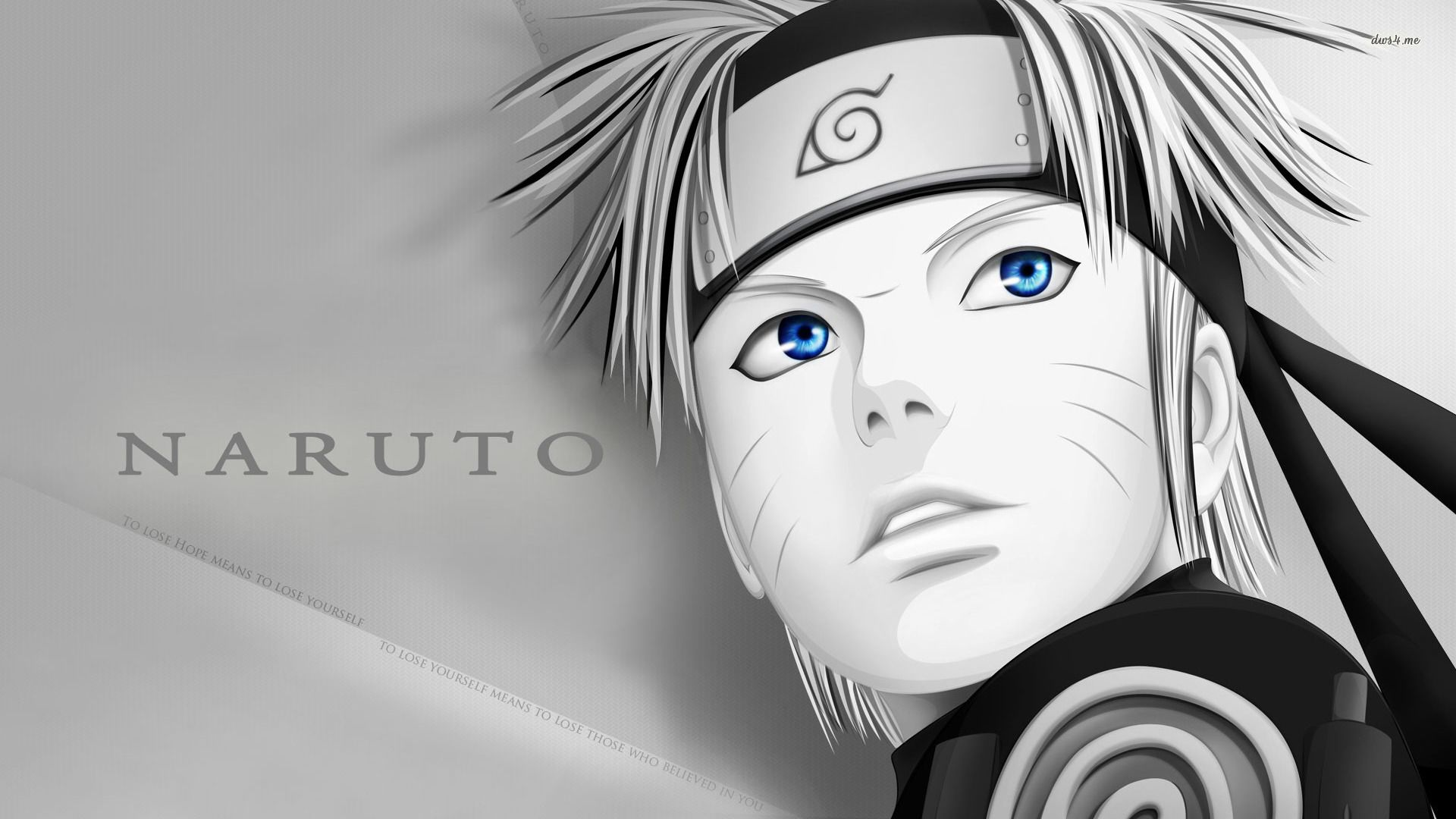 Naruto Black And White Hd Wallpaper Mpx Mxp Naruto Bw Computer