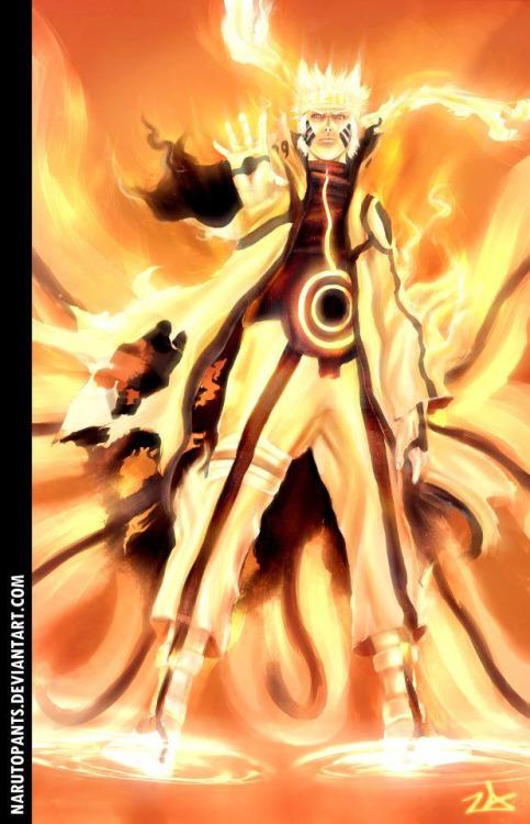 Naruto Kurama Mode Wallpapers 039