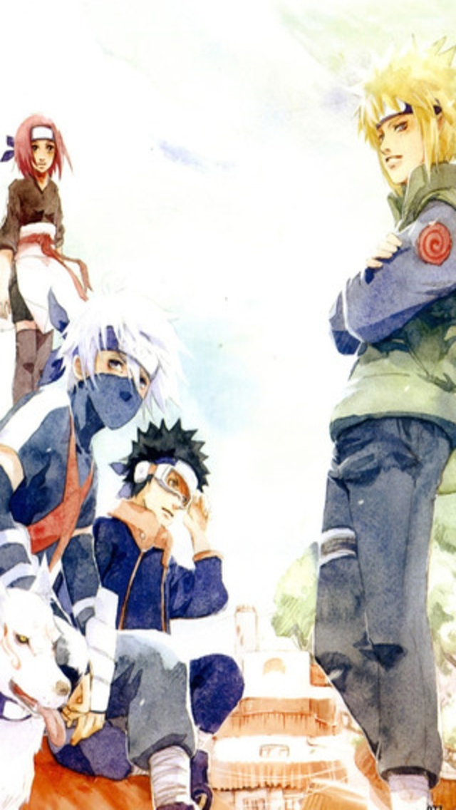 Naruto iPhone Wallpapers 019