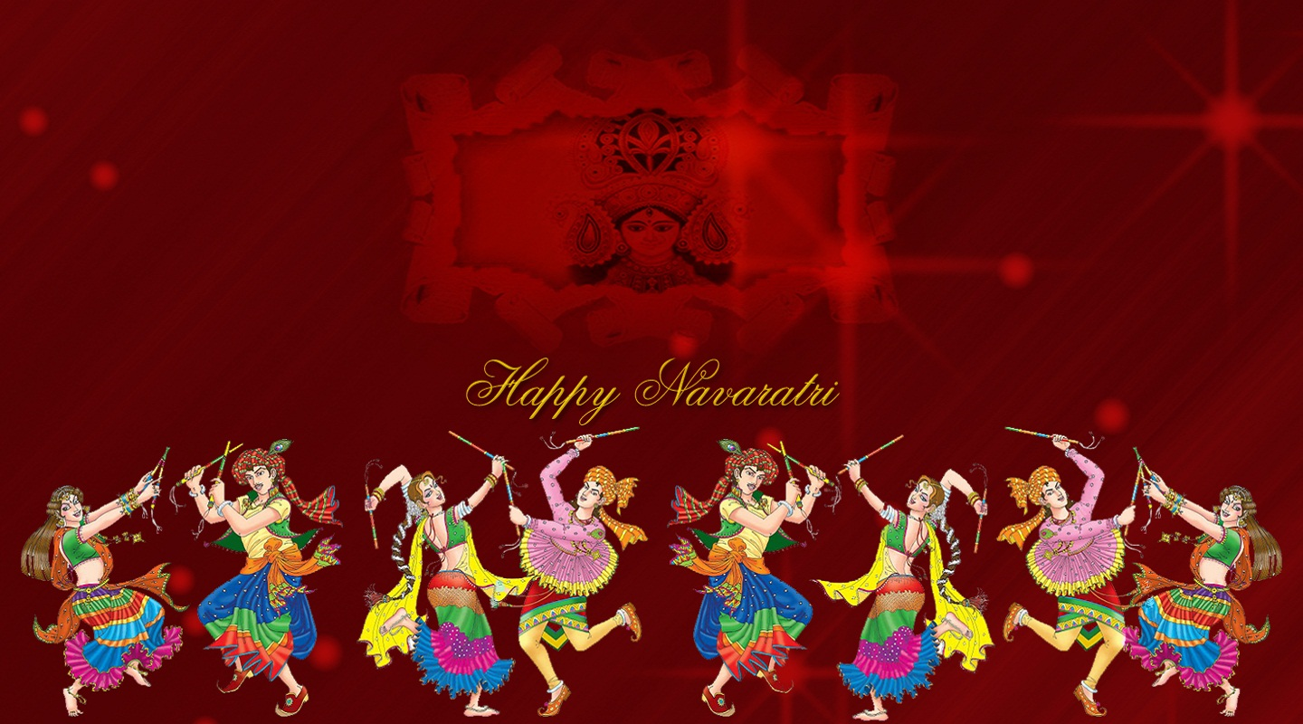 happy navratri wallpapers d download navratri festival wallpaers