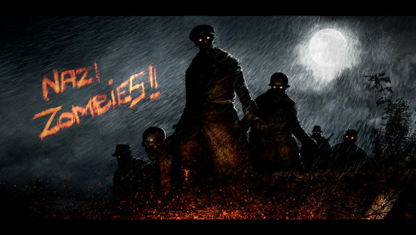 Call Of Duty Ww2 Zombies Wallpaper: Nazi Zombies Wallpapers (48 Wallpapers)
