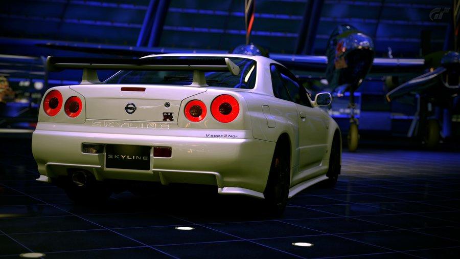 Nissan Skyline GTR R Front Crystal City Car El Tony 900×506