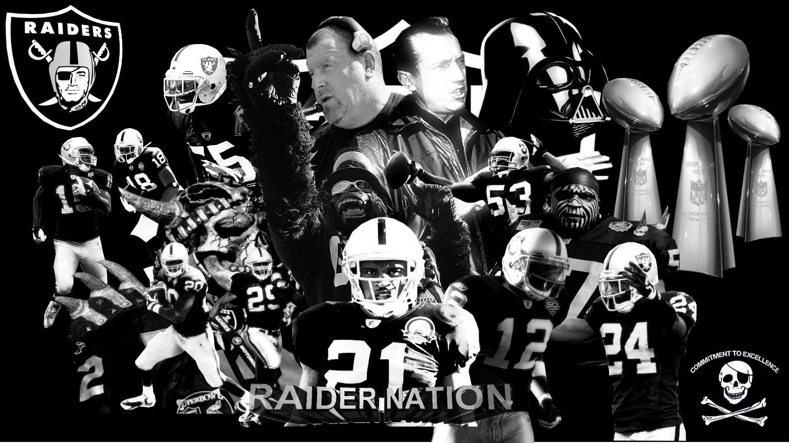 Oakland Raiders Wallpapers 36 Wallpapers Adorable Wallpapers