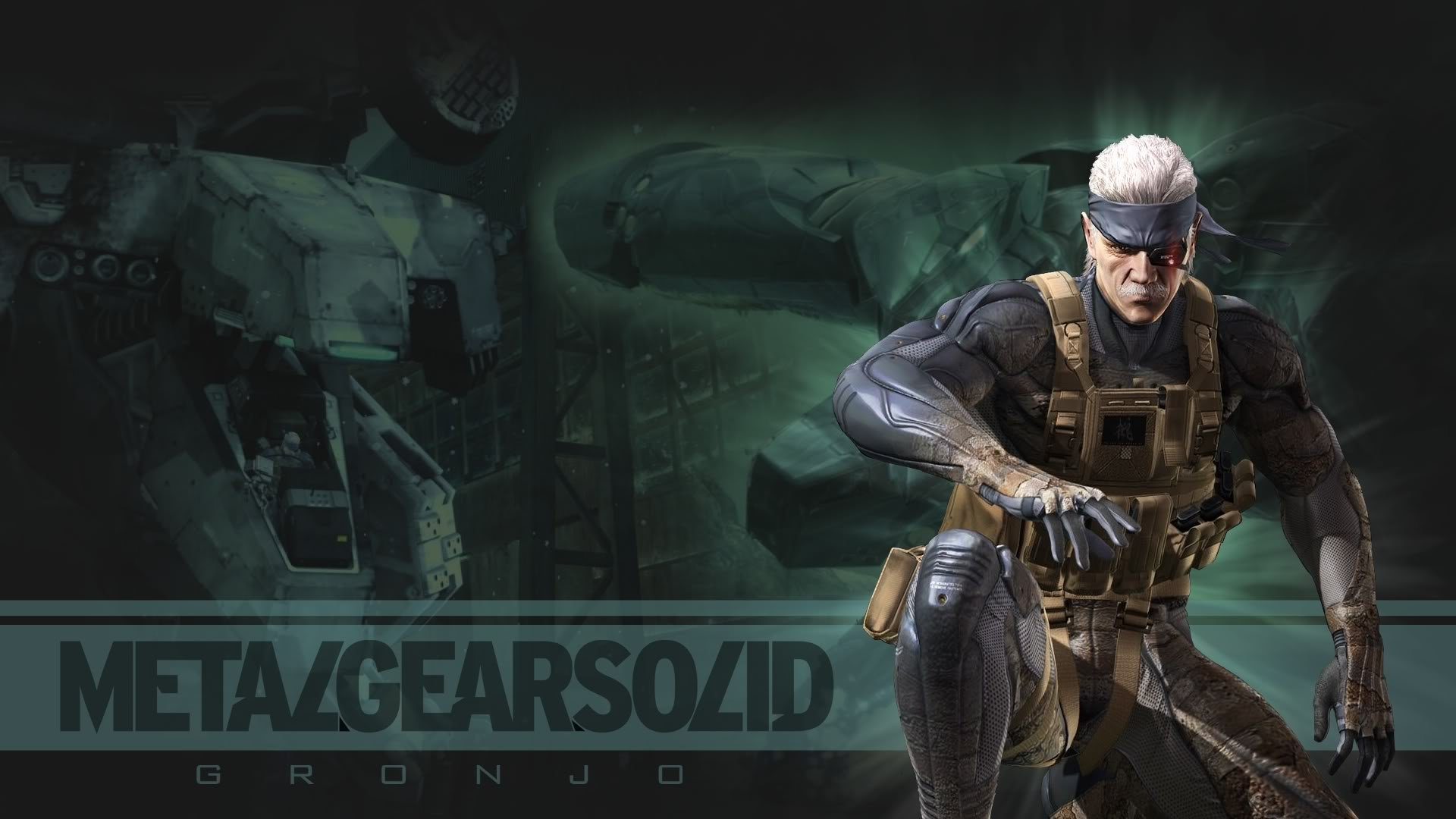 Metal Gear Solid Guns Of The Patriots Snake Wallpaper At 1920x1080