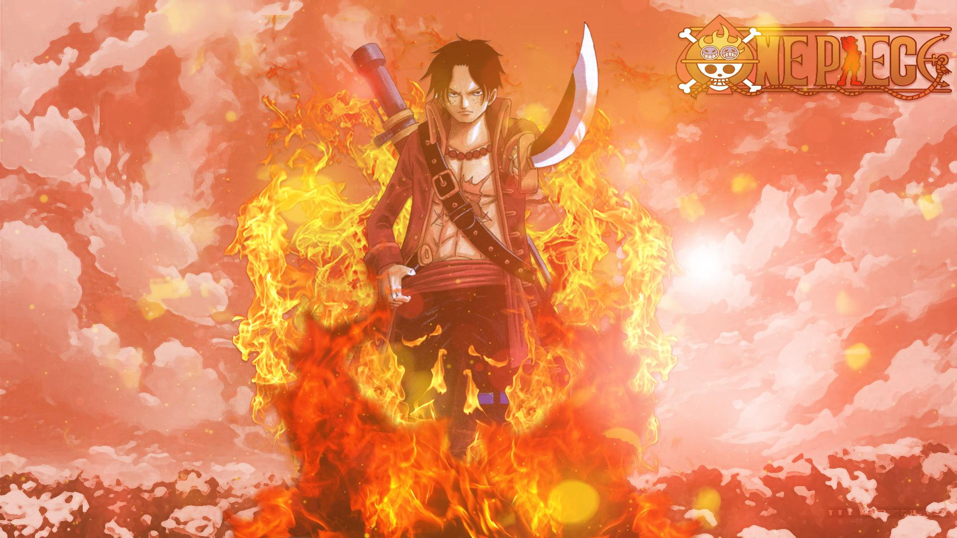 One Piece Ace wallpaper HD (60 Wallpapers) - Adorable ...