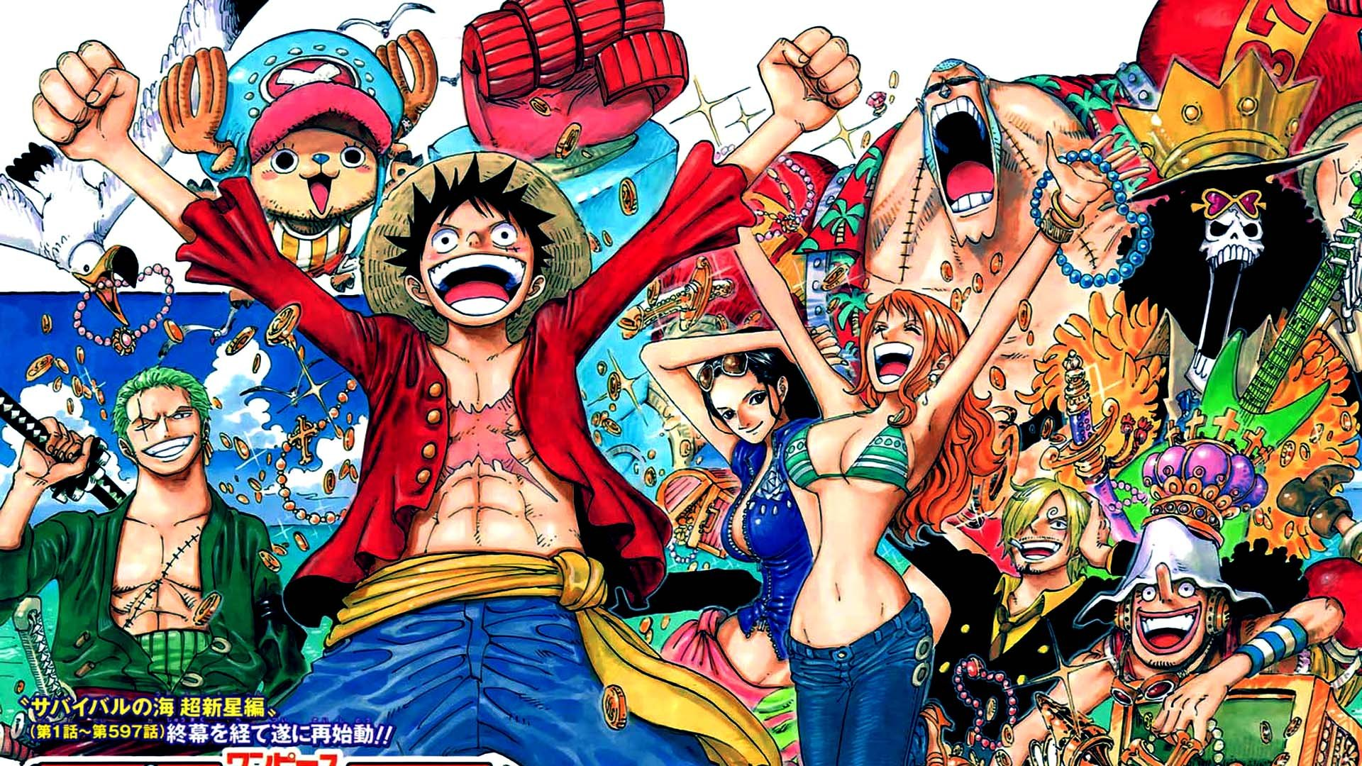 One Piece Wallpapers 1366x768 027