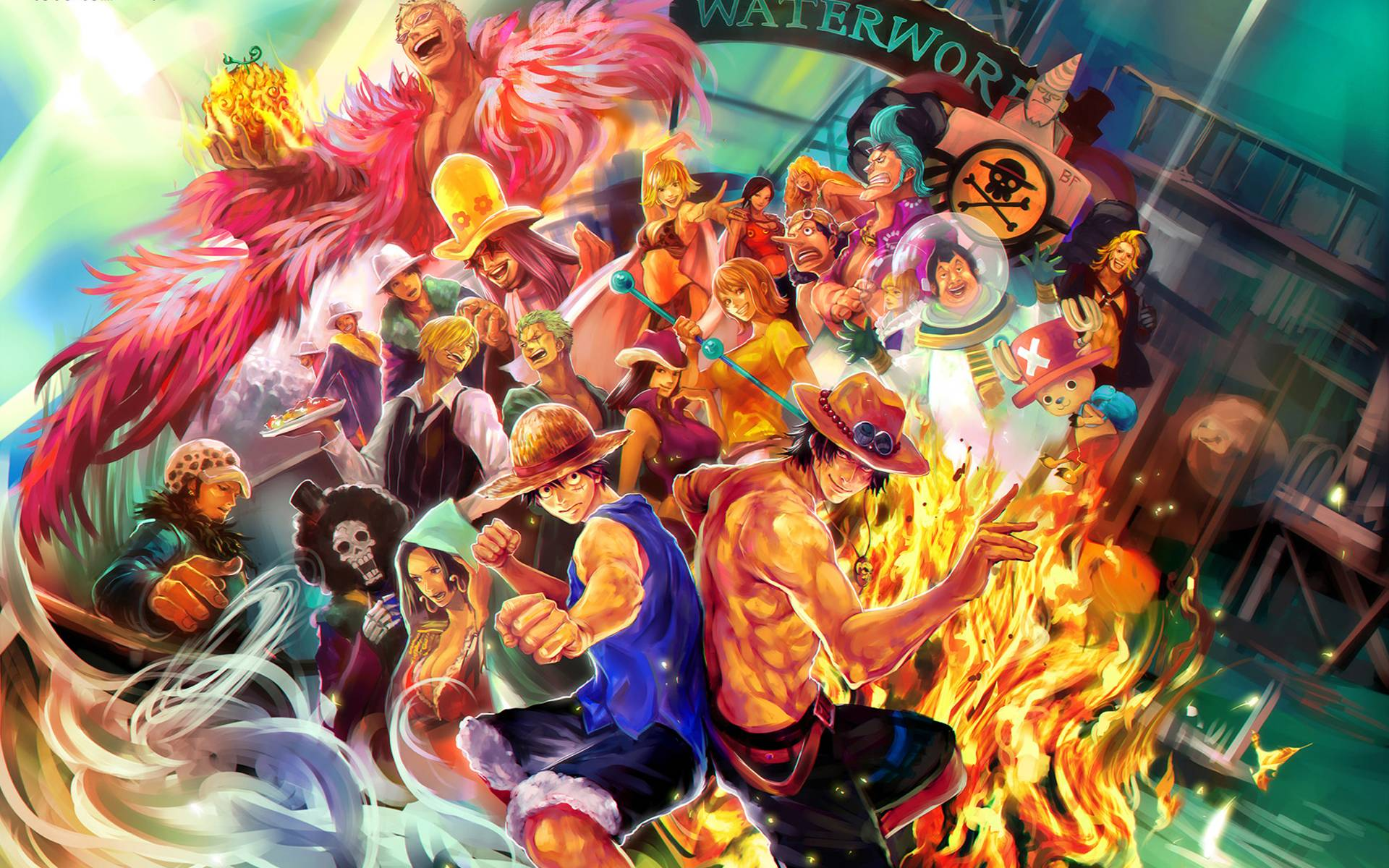 D One Piece Live Wallpaper Download D One Piece Live