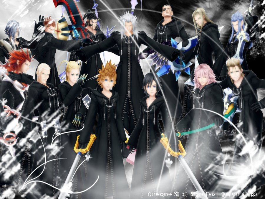 Organization XIII Wallpapers (42 Wallpapers) – Adorable ... Kingdom Hearts Organization 13 Wallpaper