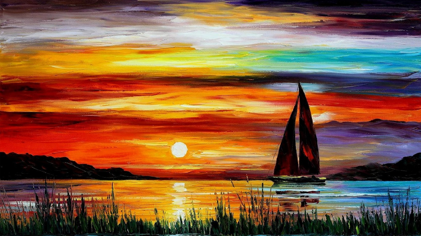 Oil Painting Free Download