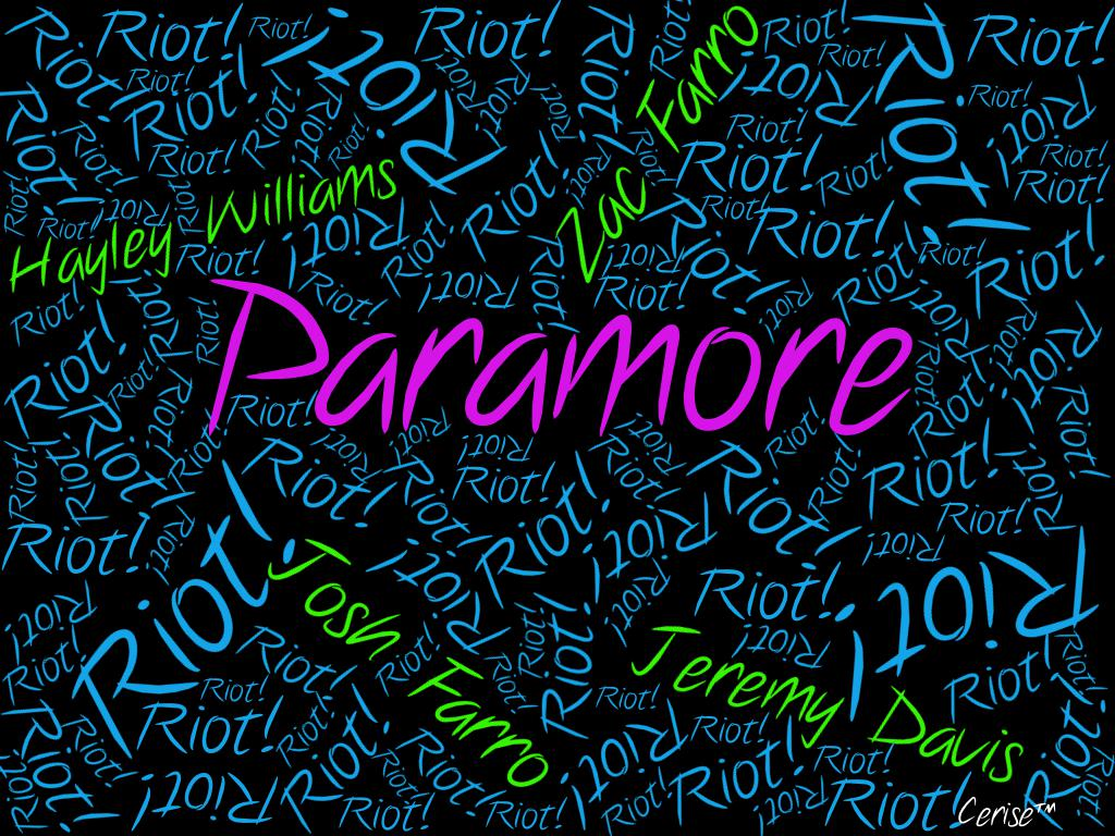 Paramore Riot Wallpapers Wallpaper
