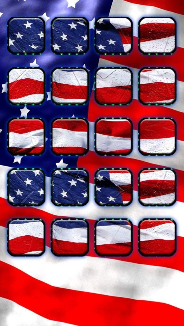 Cool American Flag iPhone Wallpapers   640x1136
