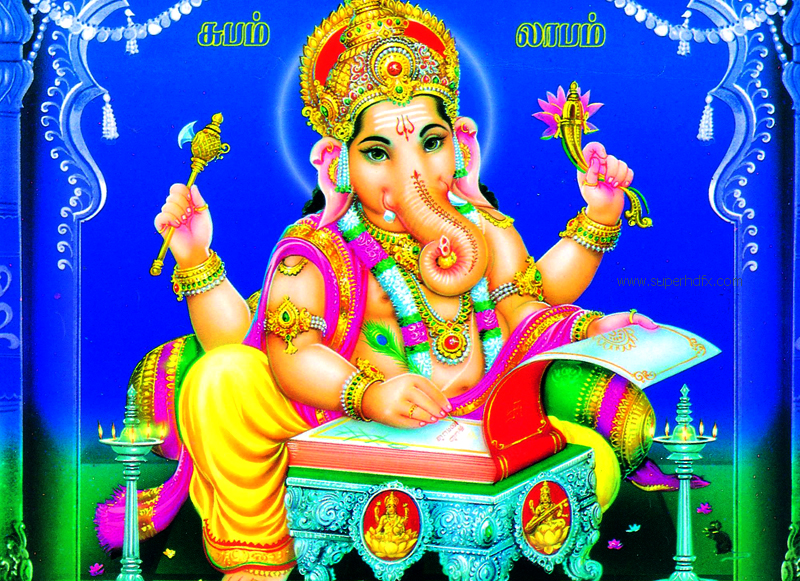 titleeVinayagar wallpapers free download  Lord Ganesh Pictures 800x581