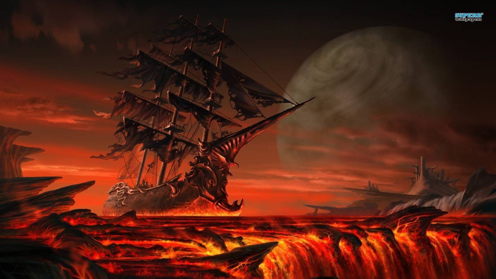 Pirate Ship Wallpapers for Desktop   1600x900