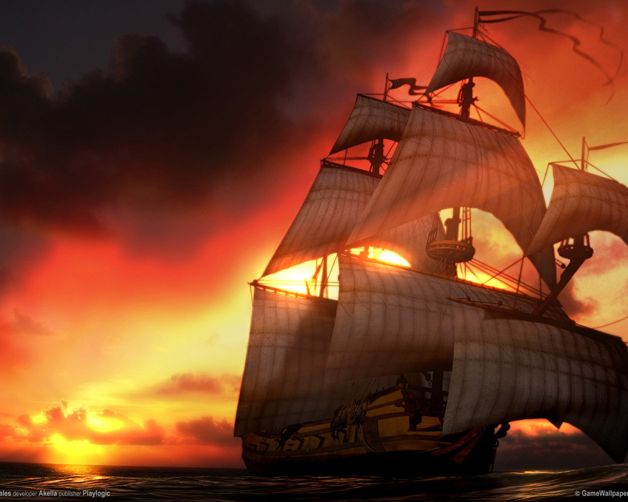 Pirates images Pirate Ship HD wallpaper and background photos 1280x1024