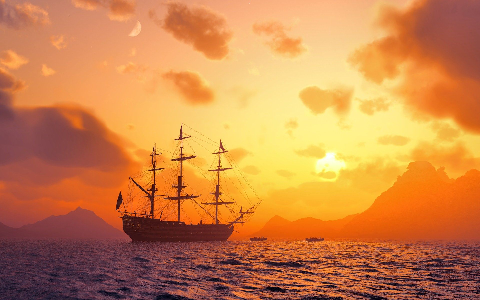 Pirate Ship Wallpapers (53 Wallpapers) - Adorable Wallpapers
