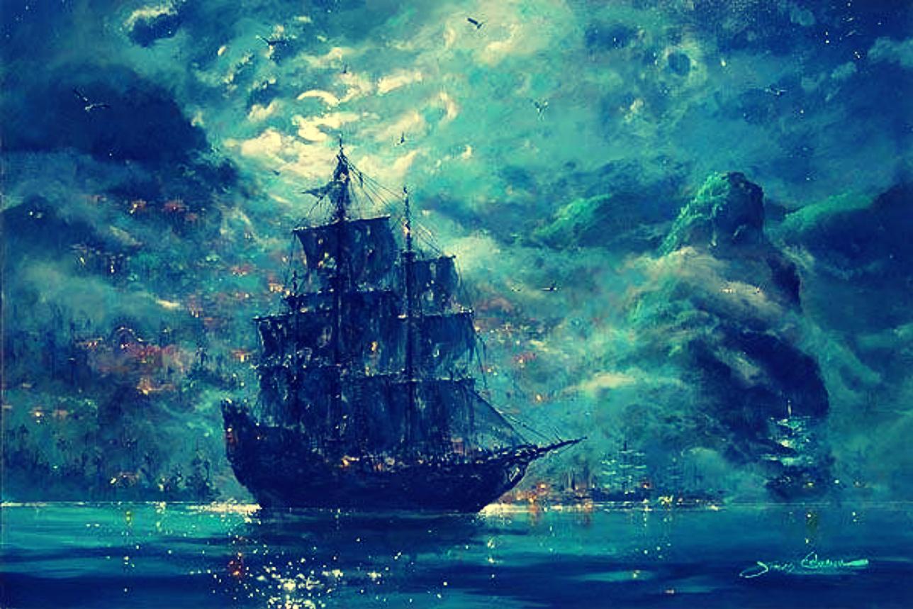 Pirate ship iphone wallpaper - photo#40