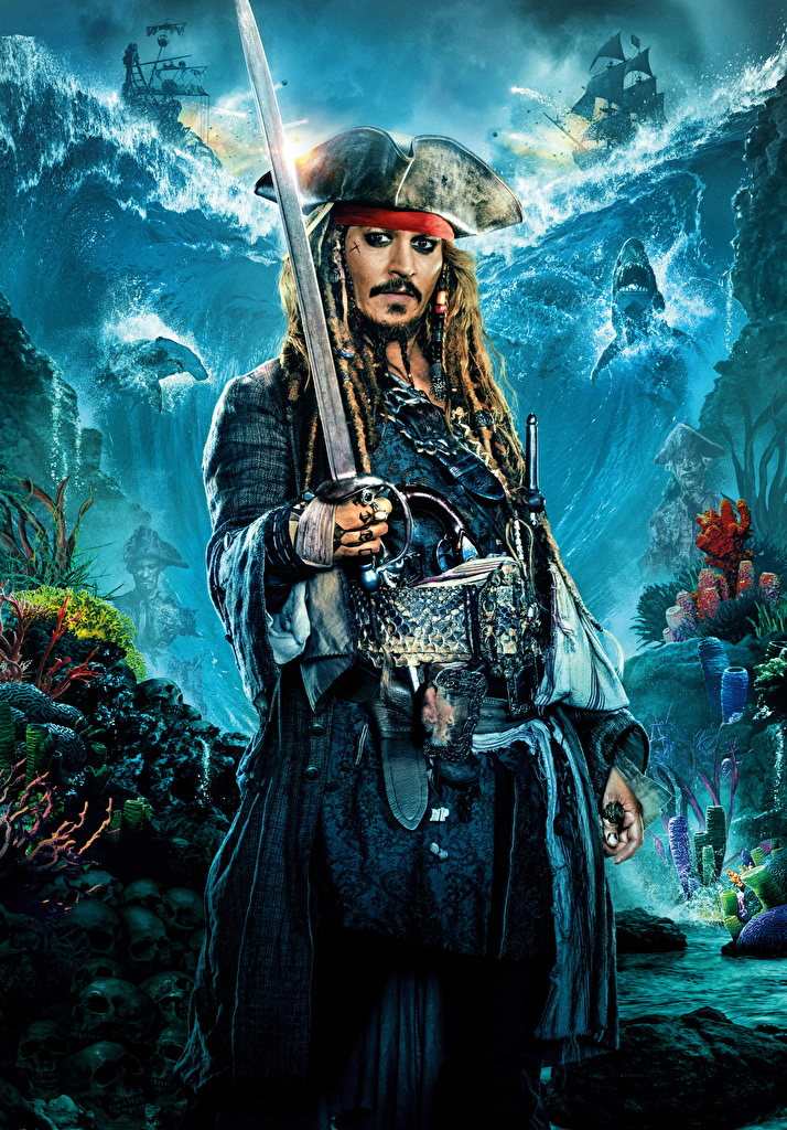 Pirates of the Caribbean : First Footage to Debut on AMC  Collider 714x1024