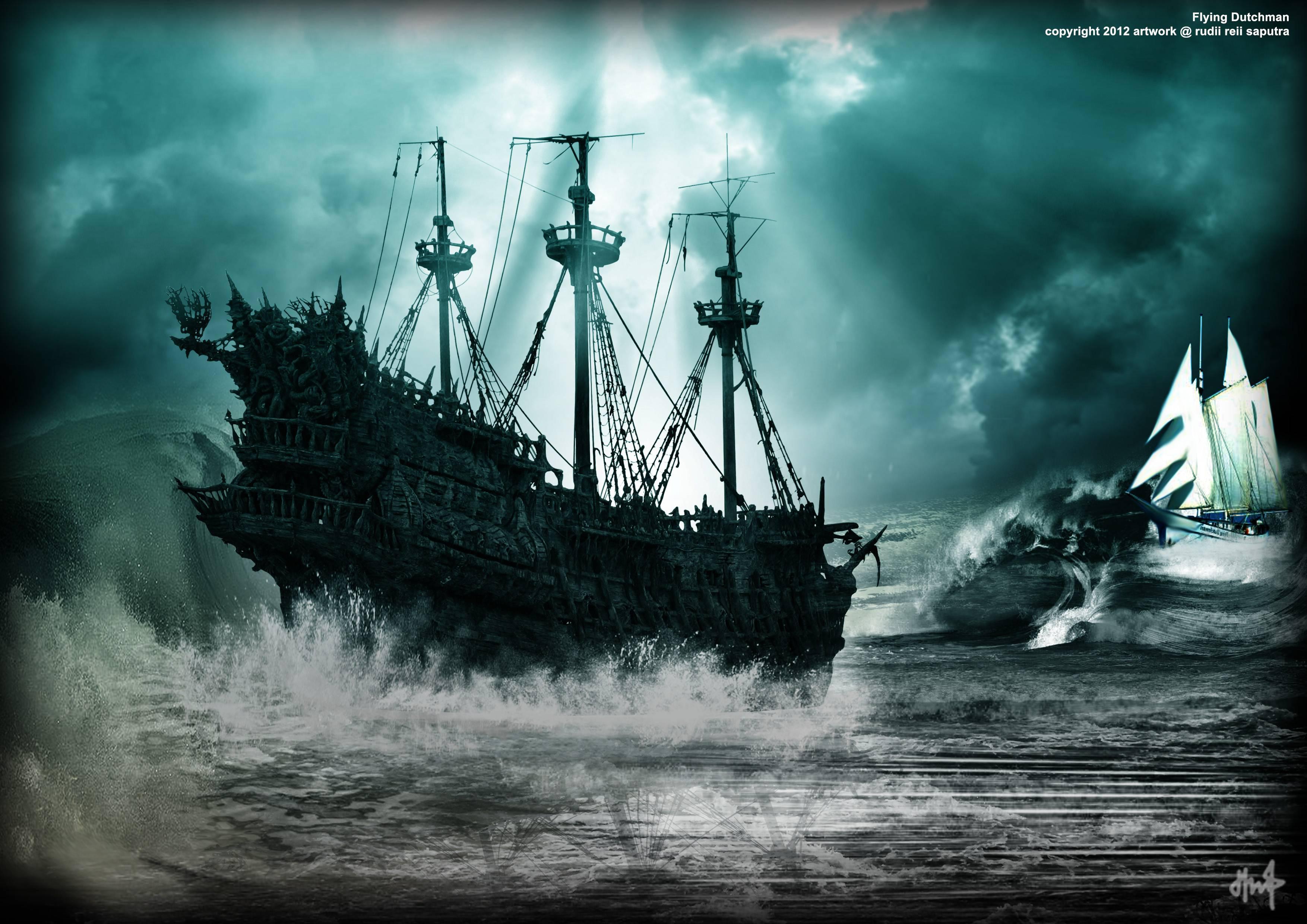 меня картинка пираты карибского моря летучий голландец началась