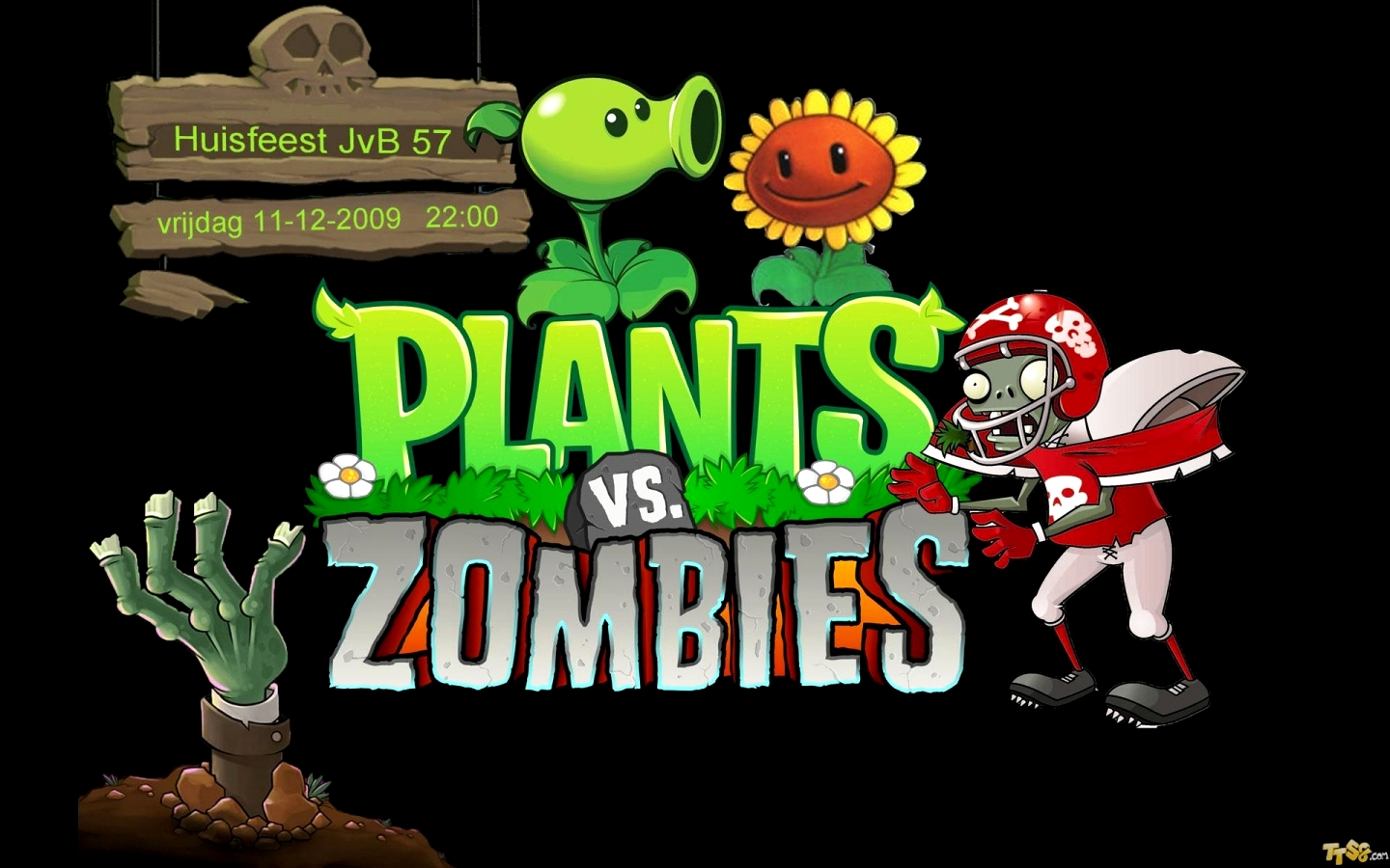 plants vs zombies wallpapersuperlakitu on deviantart 1440x900