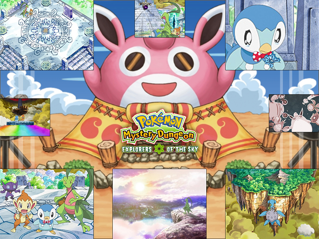 Pokemon Mystery Dungeon Gates To Infinity Images Pokemon Mystery