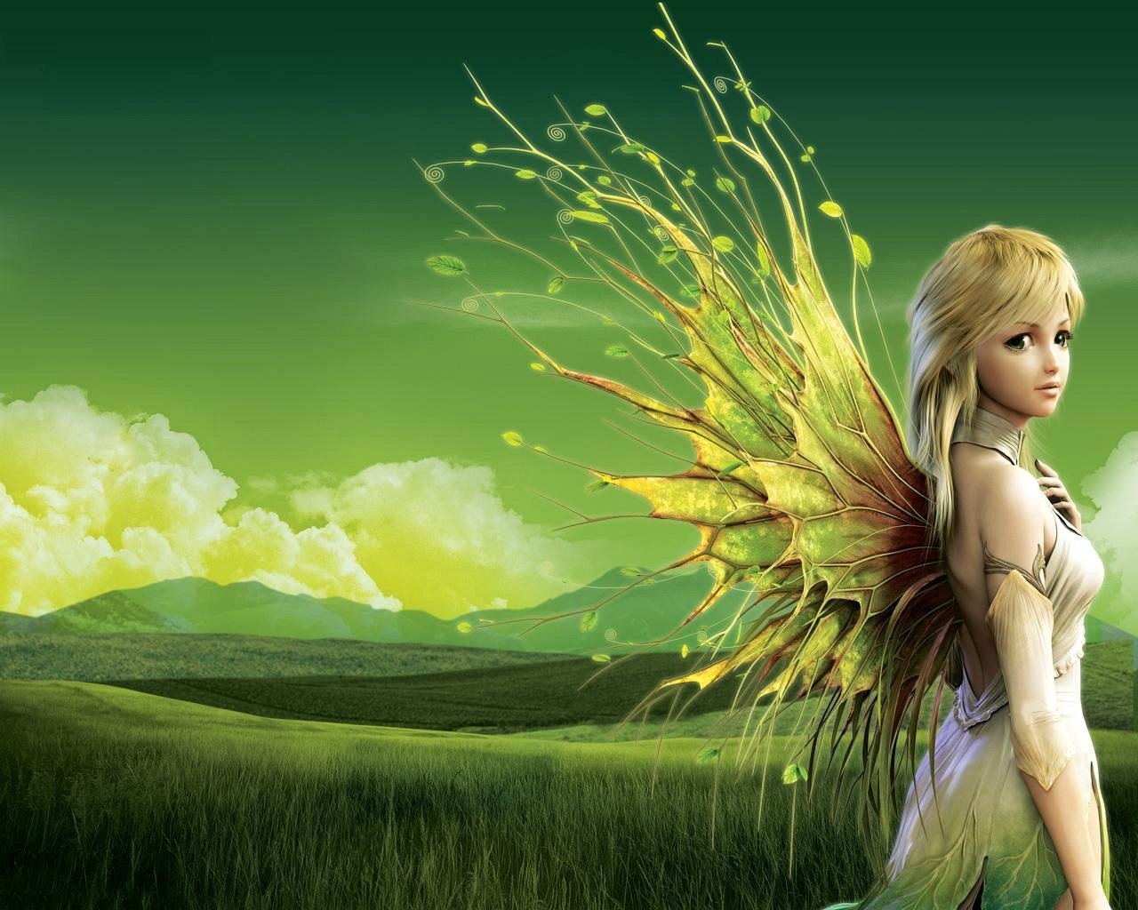Pretty Fairy Wallpapers RAMWEB 1280x1024