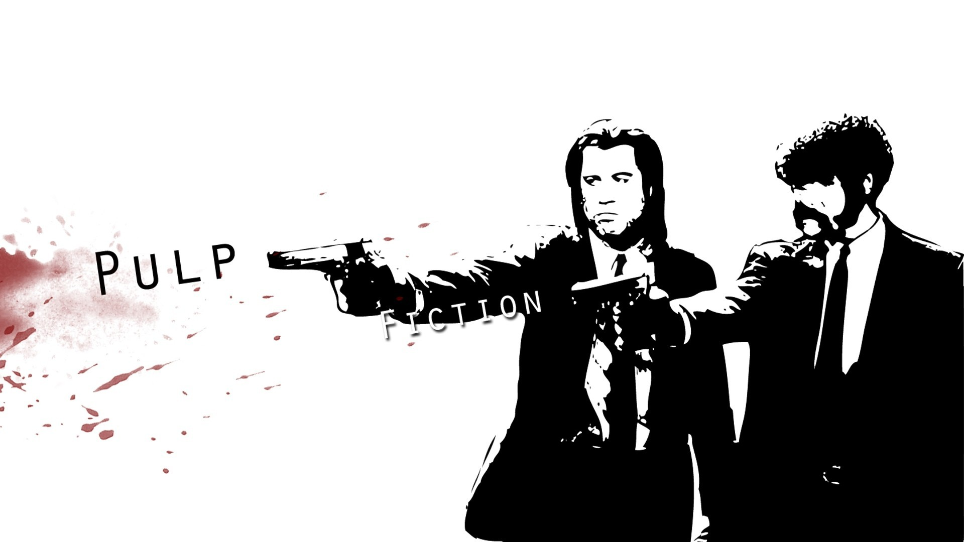 Bit Pulp Fiction iPhone Wallpaper ID