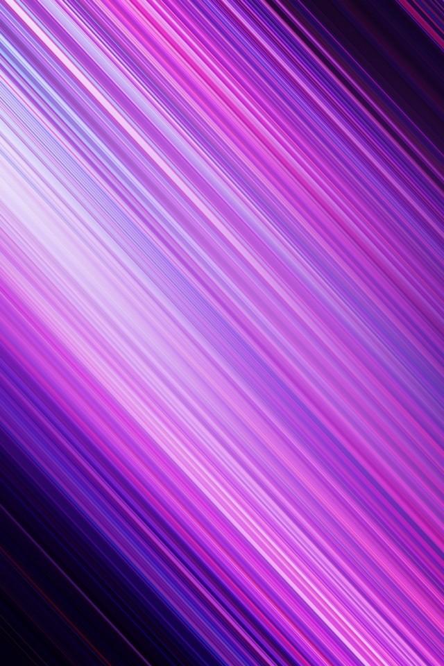 Purple Bokeh Through Glass Iphone Wallpaper Ipod Wallpaper