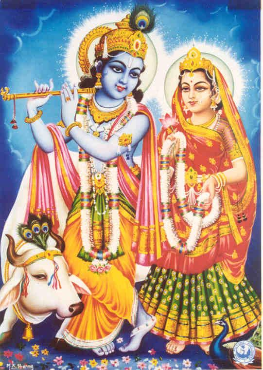 Lord Krishna Radha Images With Cow All About Cow