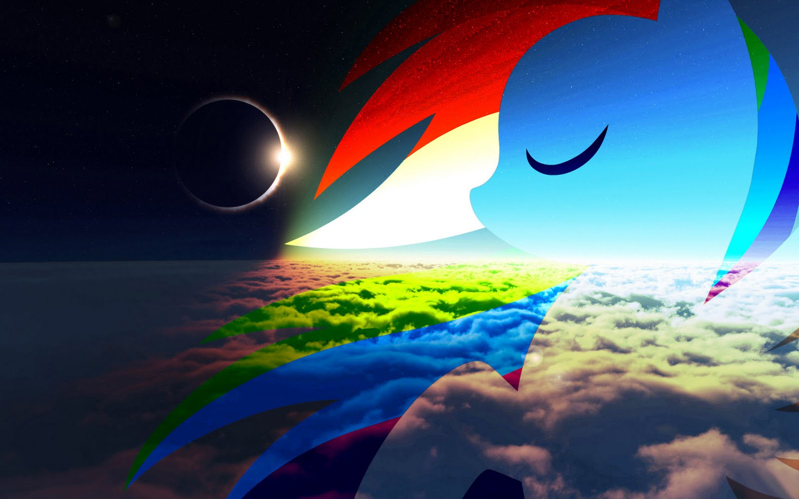 High Quality My Little Pony Rainbow Dash Wallpaper Full HD Pictures 1600x1000