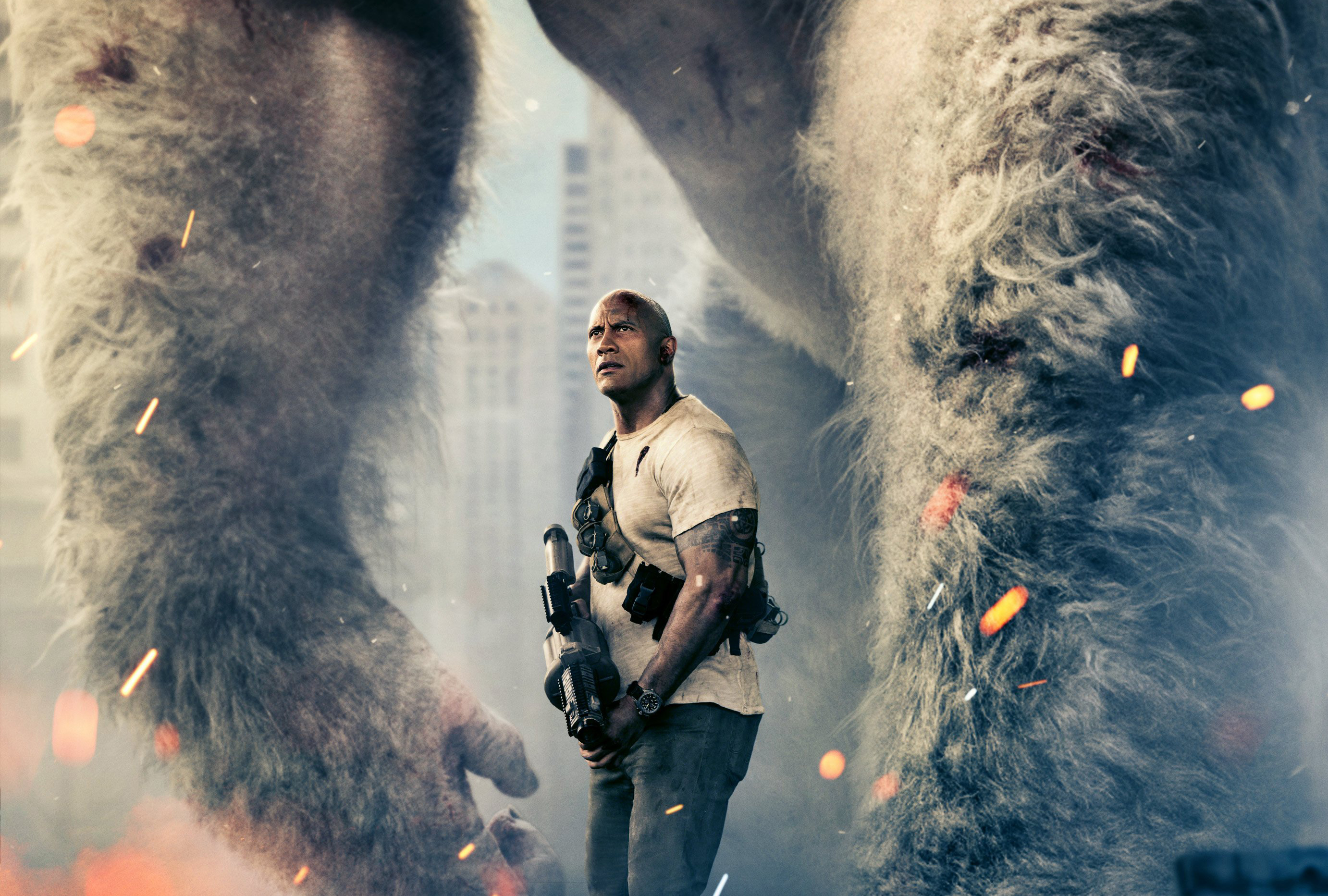 Rampage Movie Hd Movies K Wallpapers Images Backgrounds