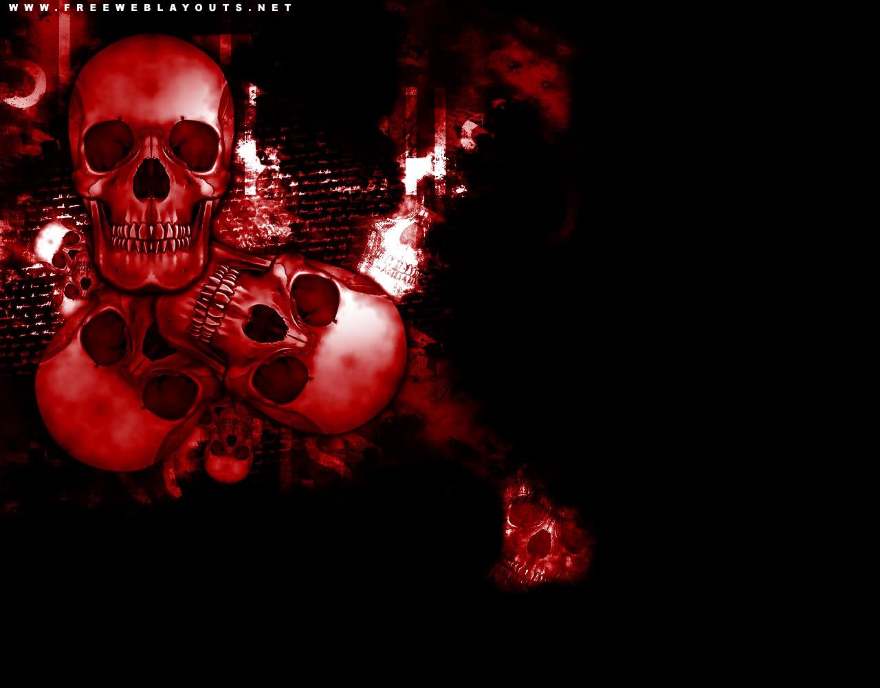 Red Skull Wallpaper Hd Red skull hd wallpapers red CALAVERAS