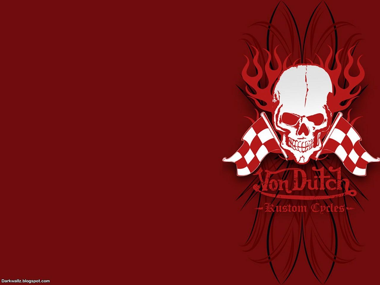 Red And Black Skull Wallpaper Ramweb 1280x960