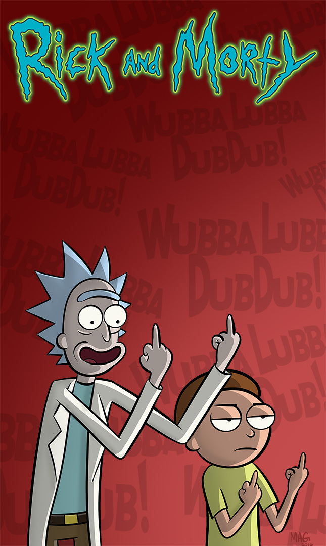 Rick And Morty Wallpaper Hd 66 Wallpapers Adorable