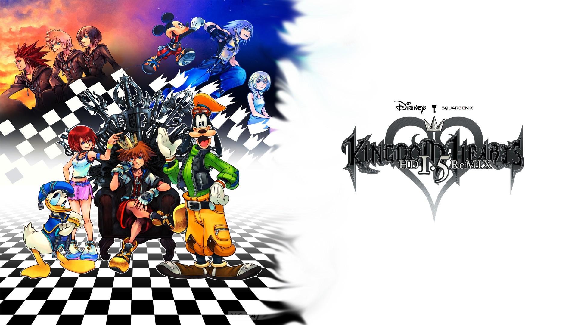 Hd Kingdom Hearts Wallpapers Group 1920x1080